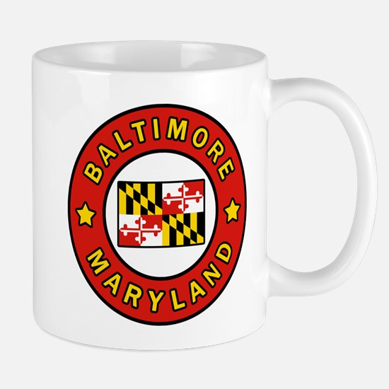 Baltimore Maryland Mugs
