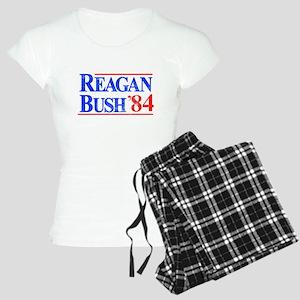 Reagan Bush '84 Women's Light Pajamas