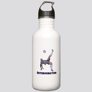 Determination (Soccer) Water Bottle