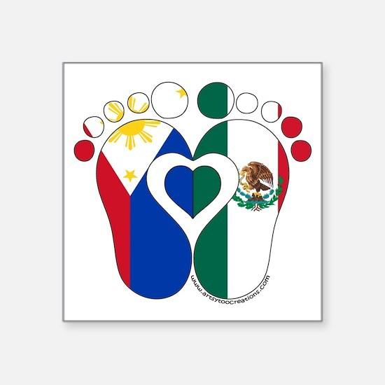 Filipino Mexican Baby Sticker