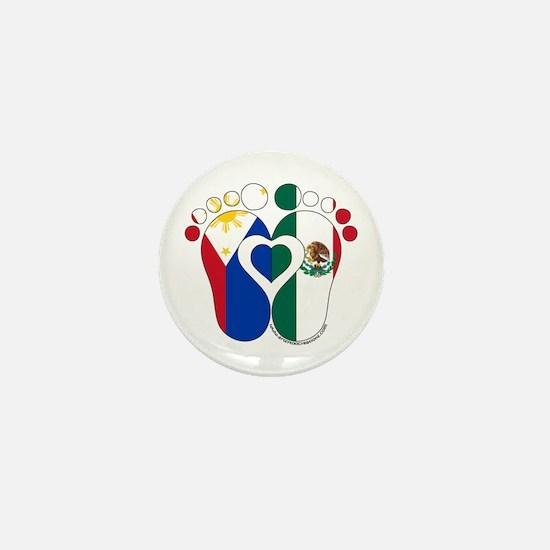 Filipino Mexican Baby Mini Button