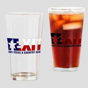 Texit Drinking Glass