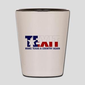 Texit Shot Glass