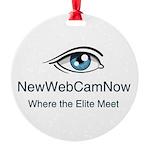 NewWebCamNow Ornament