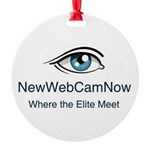 NewWebCamNow Ornament
