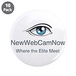 "NewWebCamNow 3.5"" Button (10 pack)"