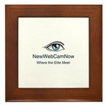 NewWebCamNow Framed Tile