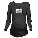 NewWebCamNow Long Sleeve Maternity T-Shirt