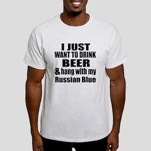 Hang With My Russian Blue Light T-Shirt