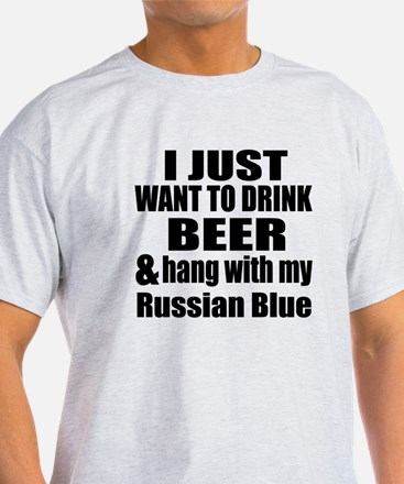 Hang With My Russian Blue T-Shirt