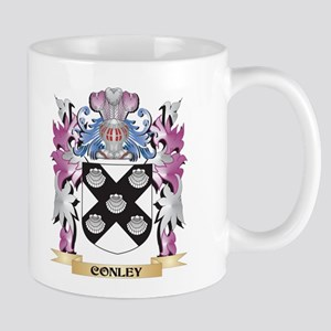 Conley Coat of Arms (Family Crest) Mugs