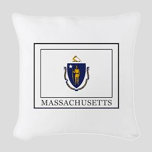 Massachusetts Woven Throw Pillow