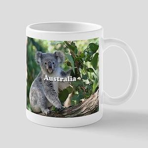 Australia: cute cuddly koala Mugs