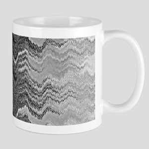 Abstract Wave Ombre Design Mugs