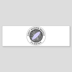 Florida - Fort Myers Beach Bumper Sticker