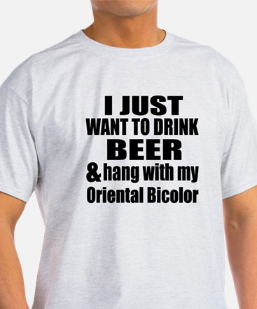 Hang With My Oriental Bicolor T-Shirt