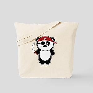 Pirate Panda Tote Bag