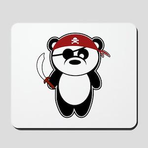 Pirate Panda Mousepad