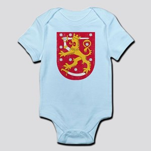 Coat Of Arms Of Finland Body Suit