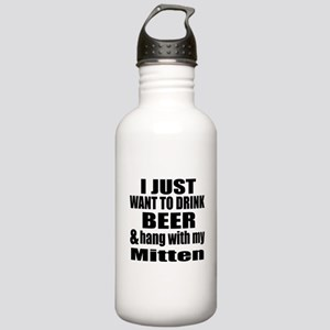 Hang With My Mitten Stainless Water Bottle 1.0L