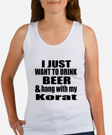 Hang With My Korat Women's Tank Top