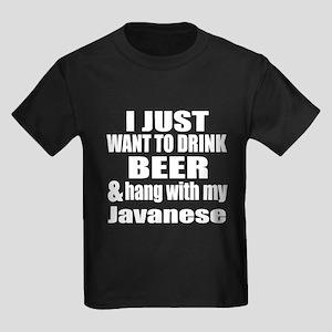 Hang With My Javanese Kids Dark T-Shirt