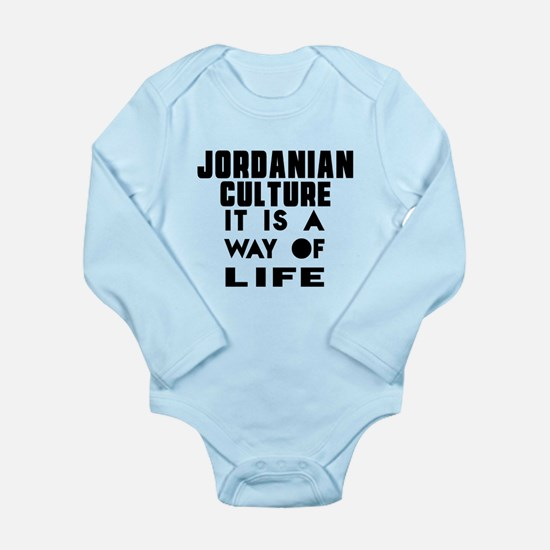 Jordanian Culture It I Long Sleeve Infant Bodysuit