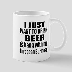 Hang With My European Burmese Mug