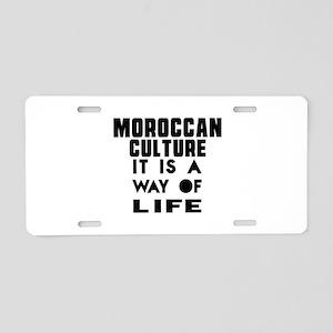 Moroccan Culture It Is A Wa Aluminum License Plate