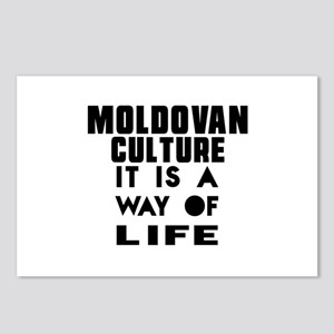 Moldovan Culture It Is A Postcards (Package of 8)