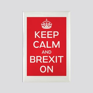 Keep Calm Brexit On Rectangle Magnet