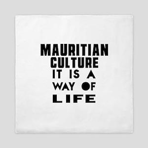 Mauritian Culture It Is A Way Of Life Queen Duvet