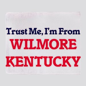 Trust Me, I'm from Wilmore Kentucky Throw Blanket
