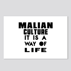 Malian Culture It Is A Wa Postcards (Package of 8)