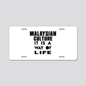 Malaysian Culture It Is A W Aluminum License Plate