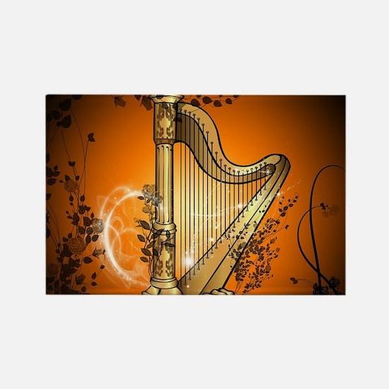 Golden harp Magnets