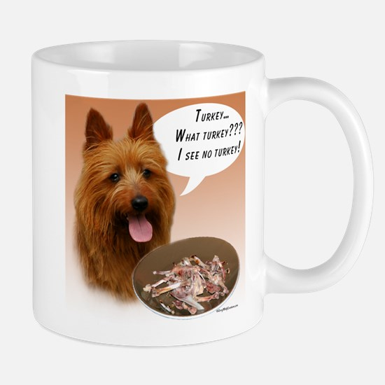 Aussie Terrier Turkey Mug