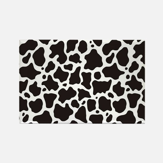 Cow pattern background Magnets