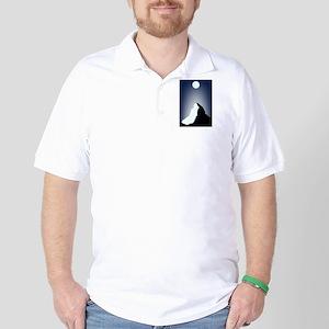 Matterhorn Night Golf Shirt