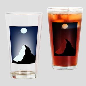 Matterhorn Night Drinking Glass