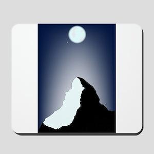Matterhorn Night Mousepad