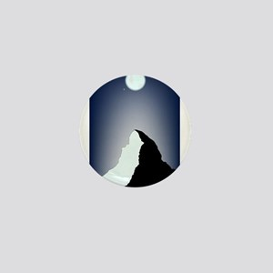 Matterhorn Night Mini Button