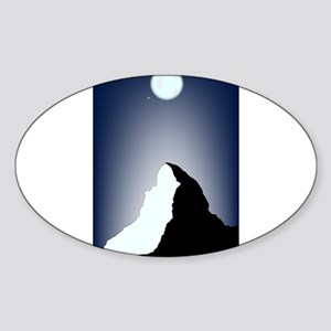 Matterhorn Night Sticker