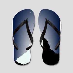 2a89d1865476 Moonlight Flip Flops - CafePress