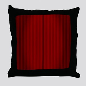 Curtain Call Throw Pillow