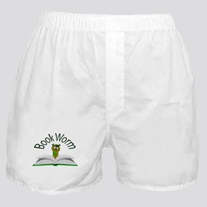 Book Worm Boxer Shorts