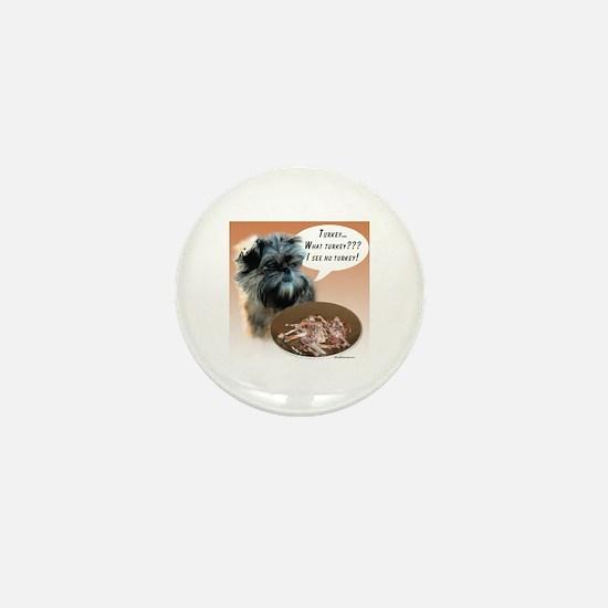 Affenpinscher Turkey Mini Button