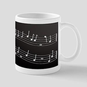 Metallic Cleff Mugs