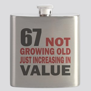 67 Not Growing Old Flask