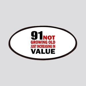 91 Not Growing Old Patch